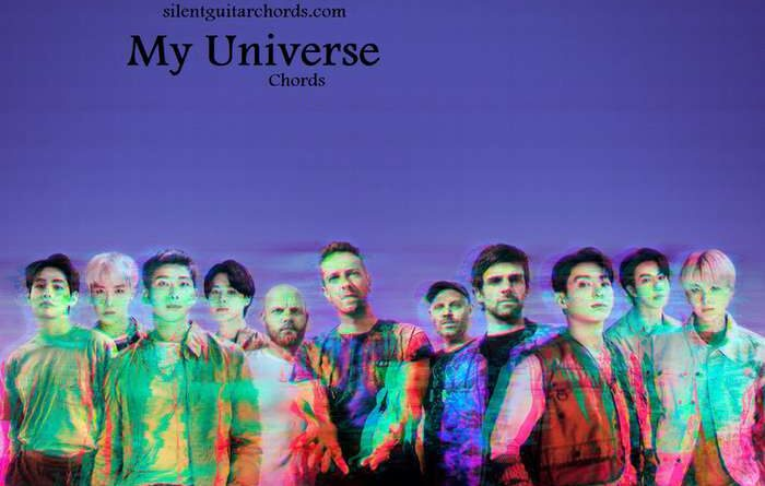 My Universe Chords by Coldplay & BTS for Guitar & Ukulele