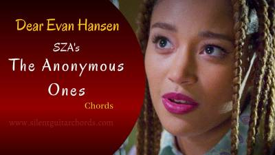 The Anonymous Ones Chords by SZA